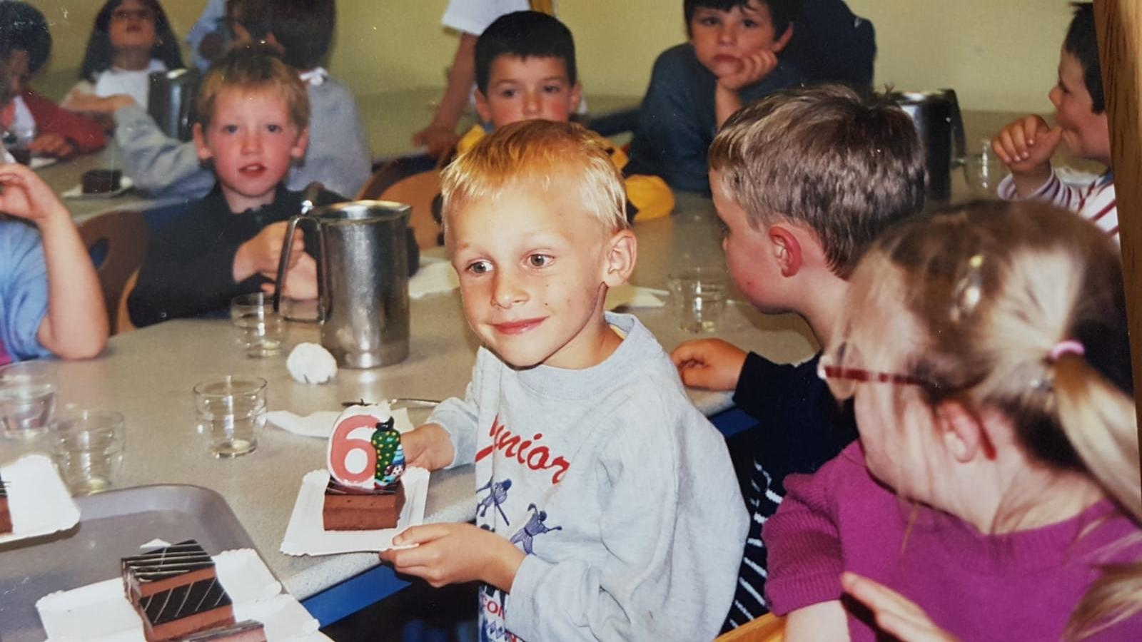Marc-Antoine Olivier fête ses 6 ans au CP
