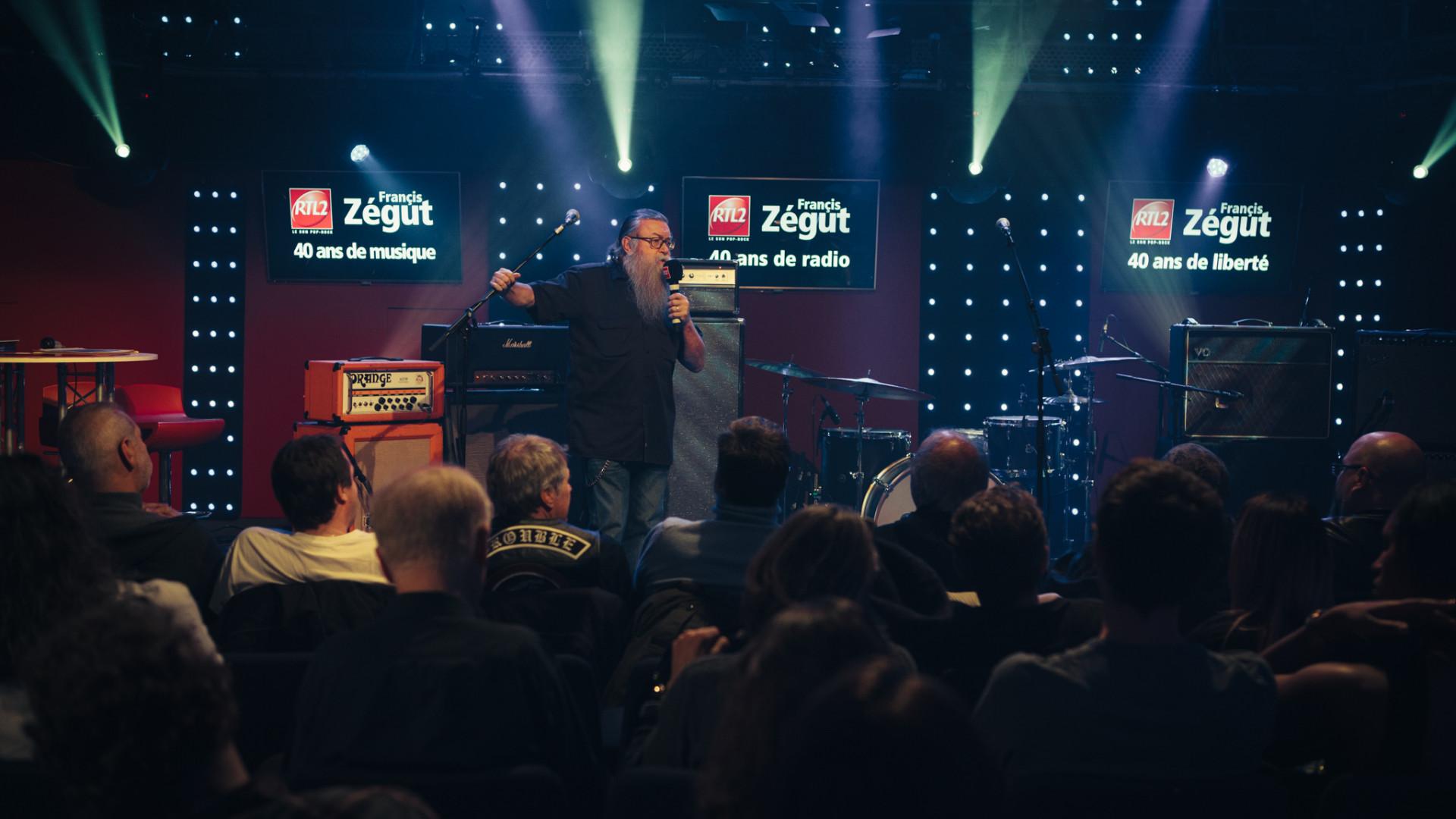 Francis Zégut en direct du Grand Studio pour un Pop-Rock Station exceptionnel