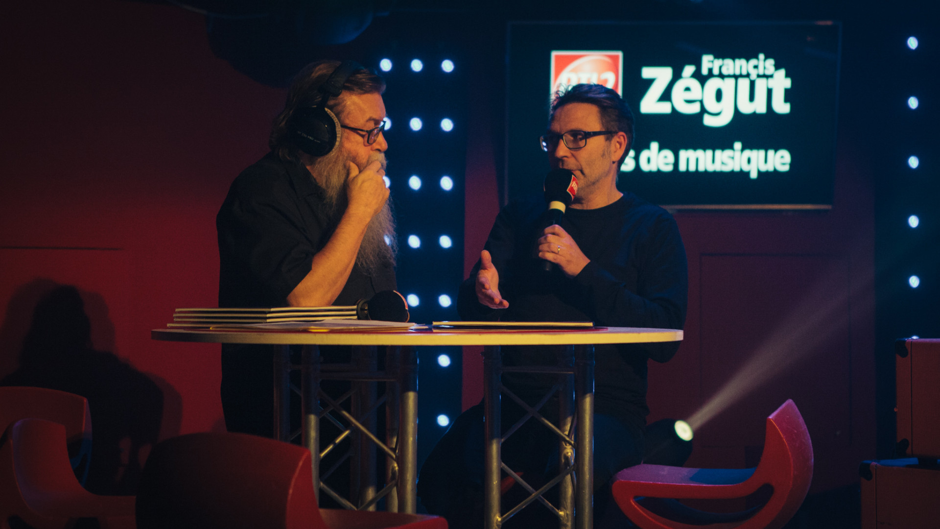Francis Zégut et David Dutreuil du label Warner