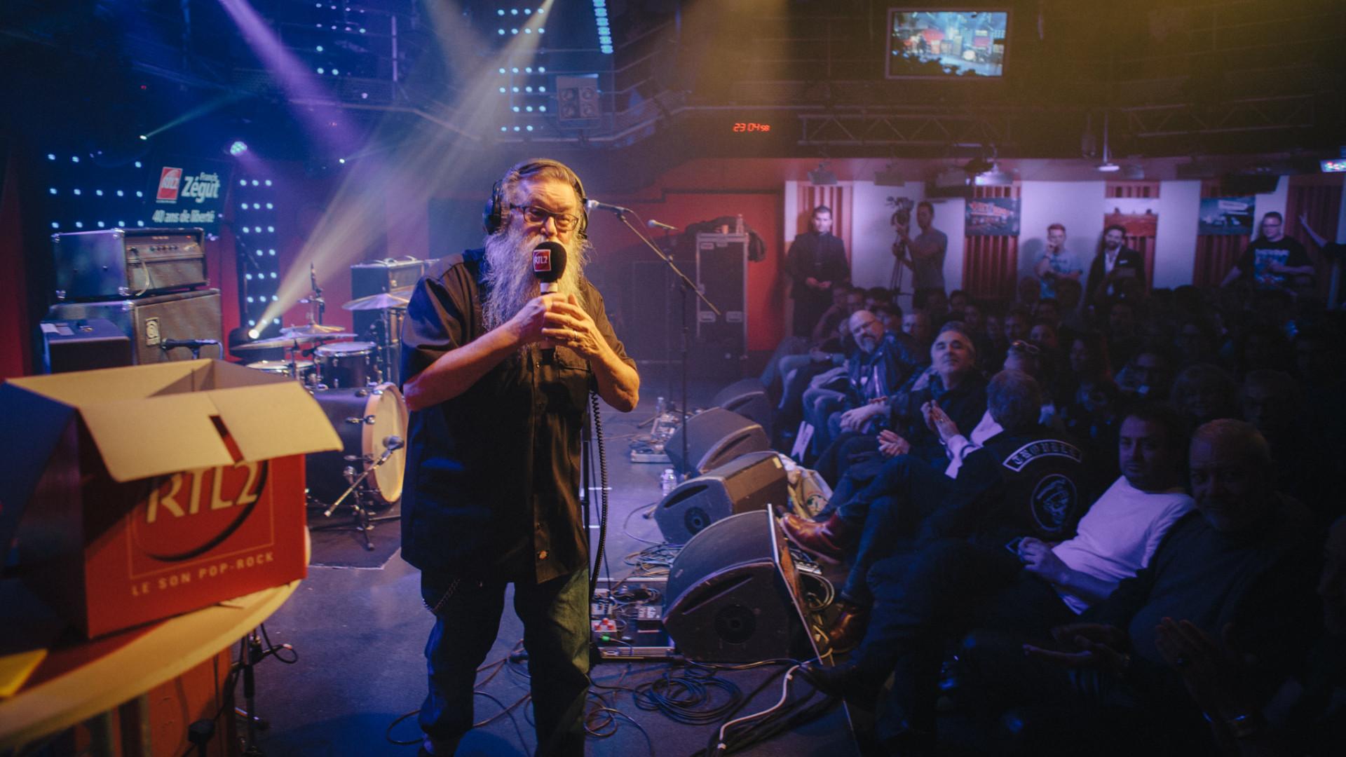 Francis Zégut en public et en direct du Grand Studio RTL2