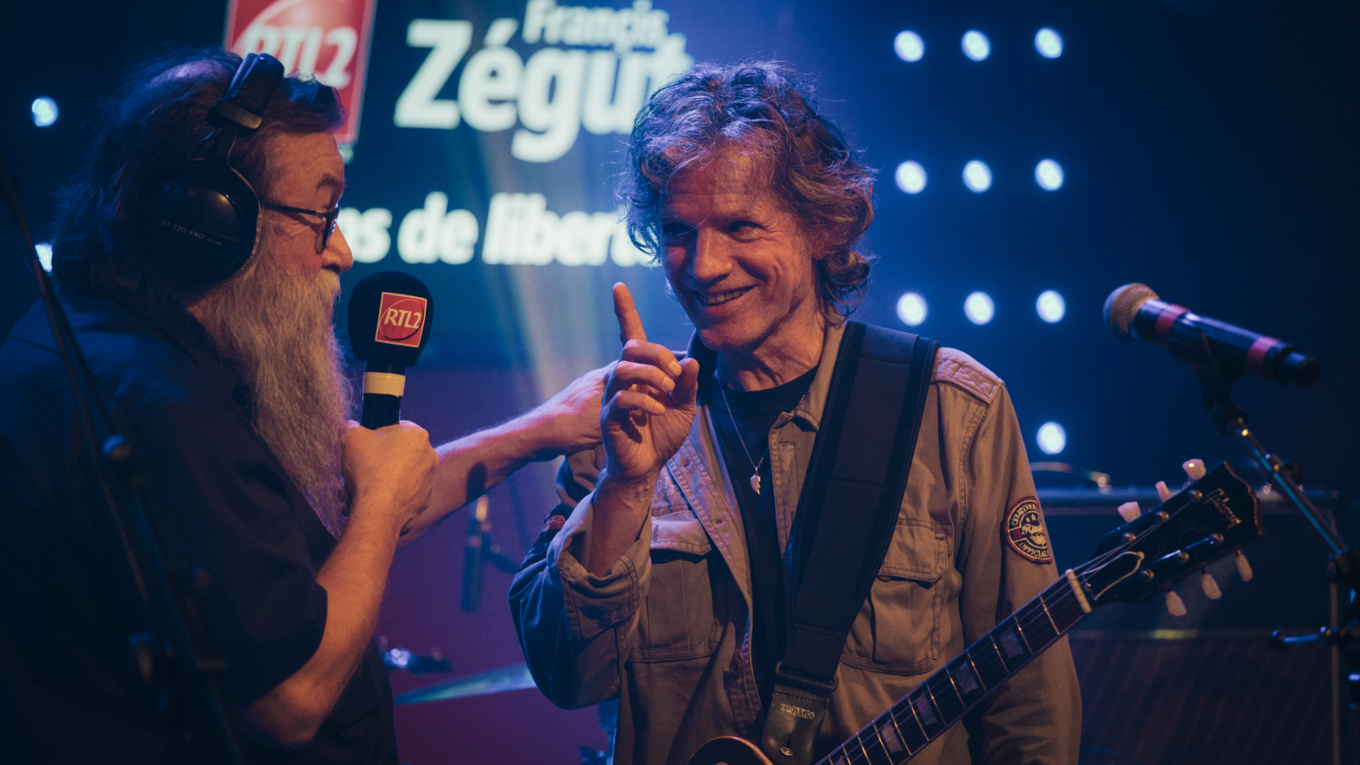 Paul Personne est aussi venu rendre une visite surprise à Francis Zégut