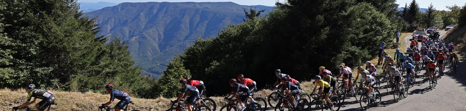 Le peloton du Tour de France le 3 septembre 2020