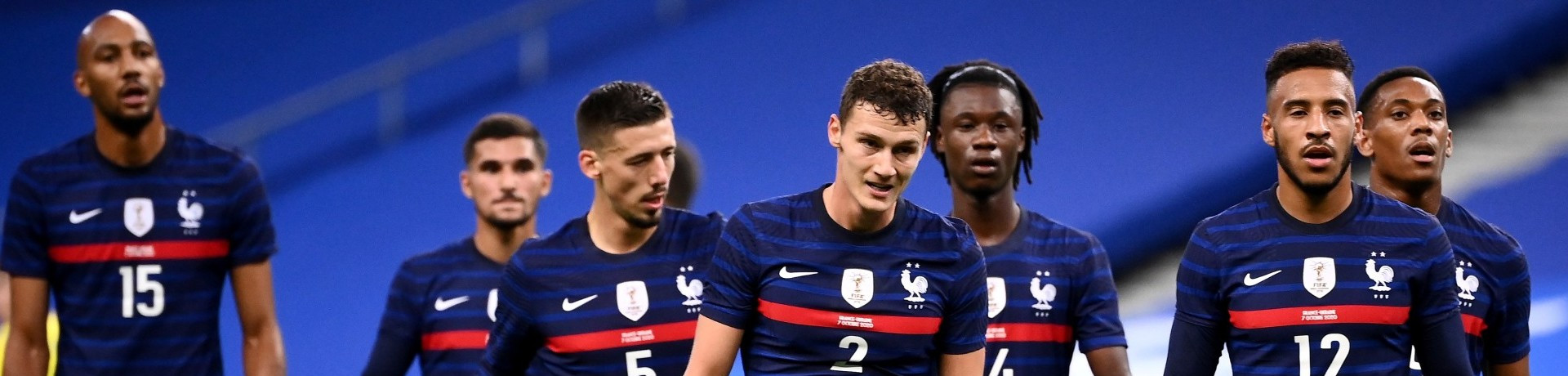 Les Bleus au Stade de France le 7 octobre 2020