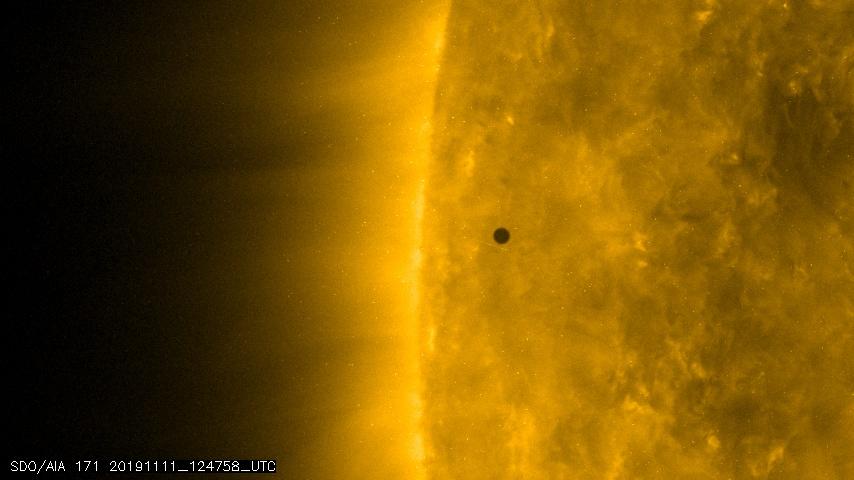 Transit de Mercure devant le Soleil le 11 novembre 2019 (2)