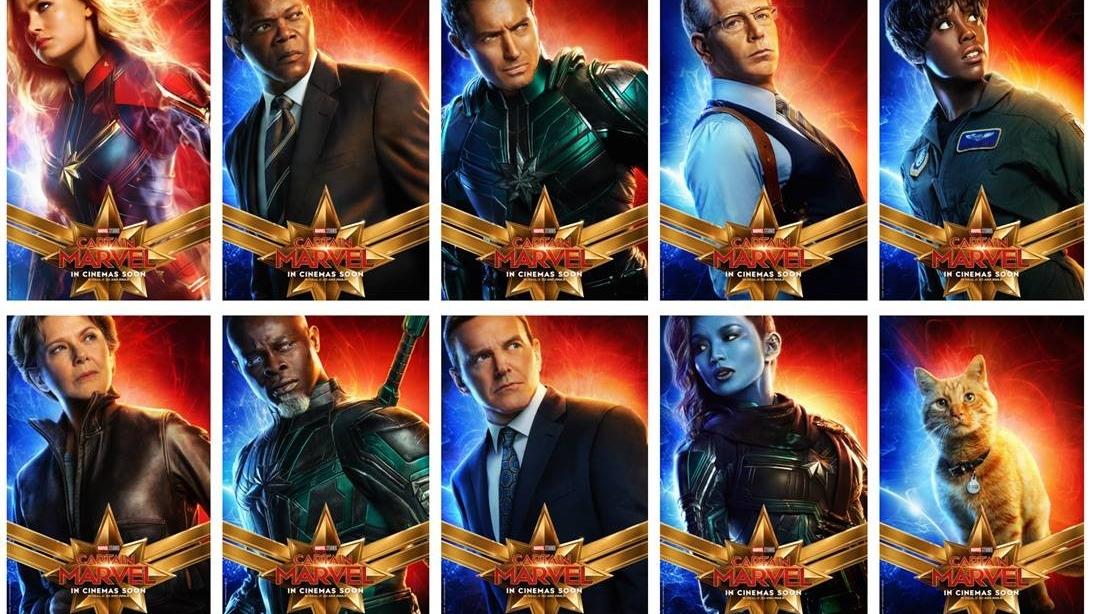 """""""Captain Marvel"""" est attendu dans les salles le 6 mars 2019"""