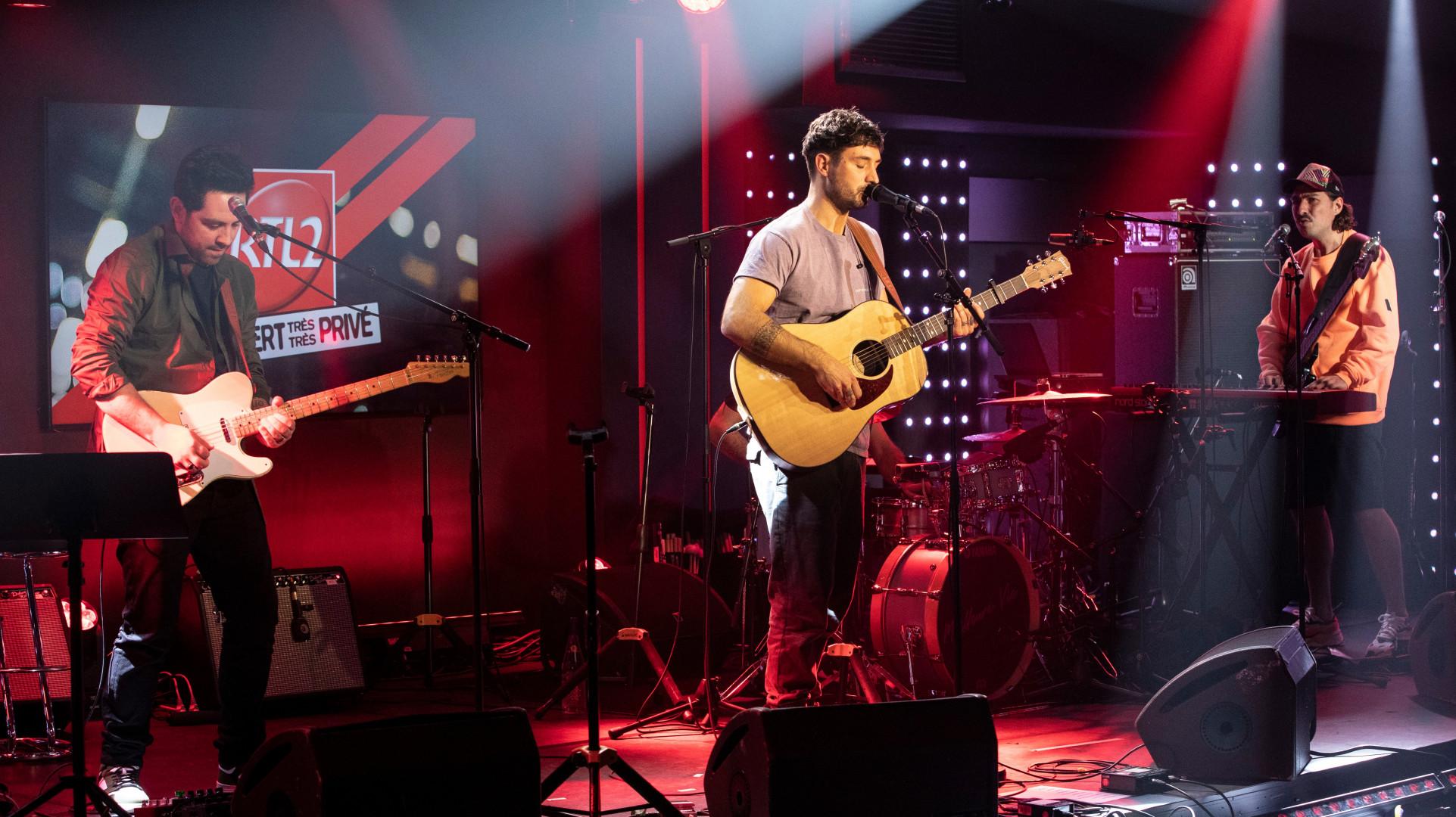 Jérémy Frérot en Concert Très Très Privé RTL2
