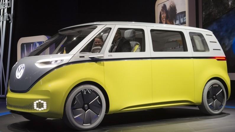 """Le Volkswagen I.D. Buzz l'emporte dans la catégorie """"Meilleure voiture verte"""""""