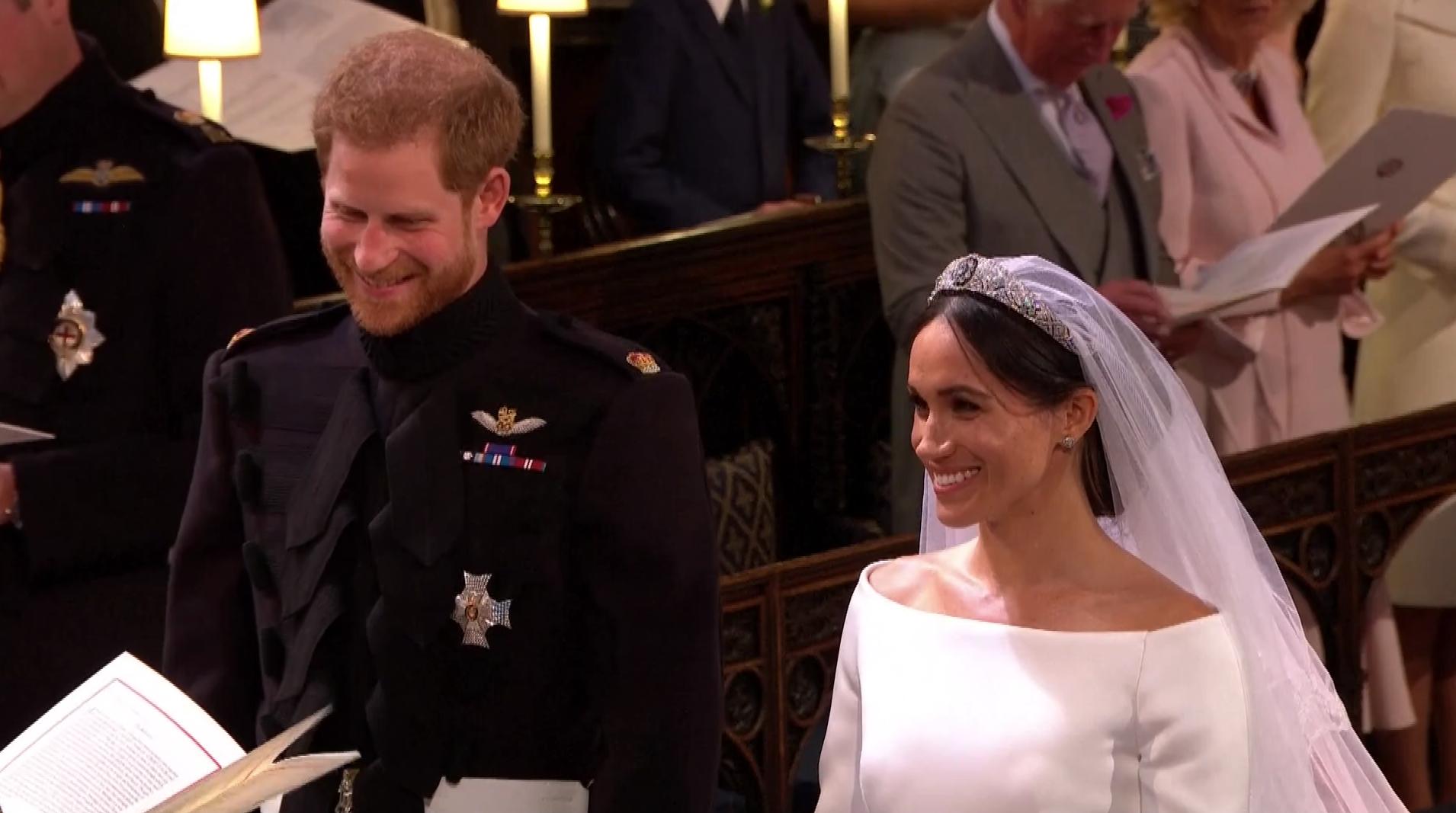 Meghan et Harry échangent leurs vœux