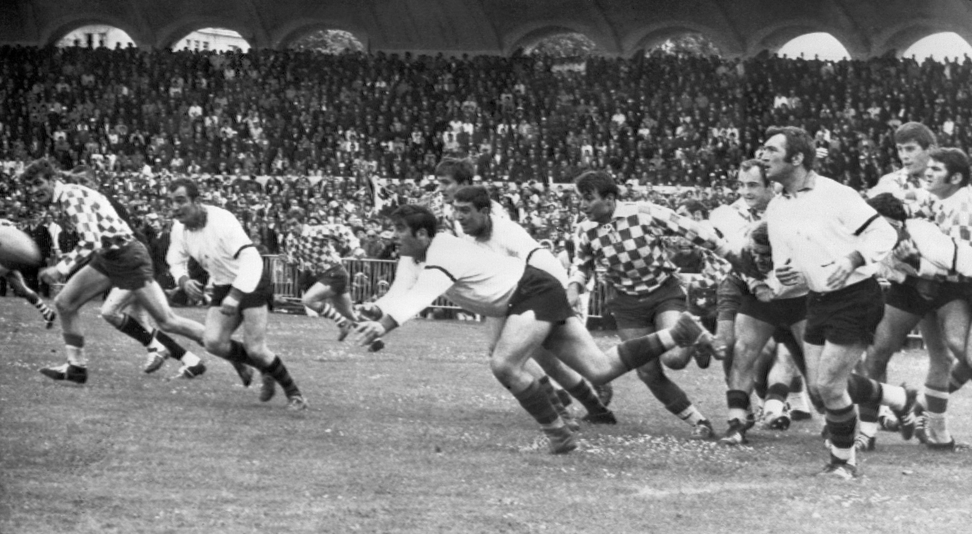28 mai 1967 : Lescure accueille la finale du championnat de France de rugby Montauban - Bègles-Bordeaux