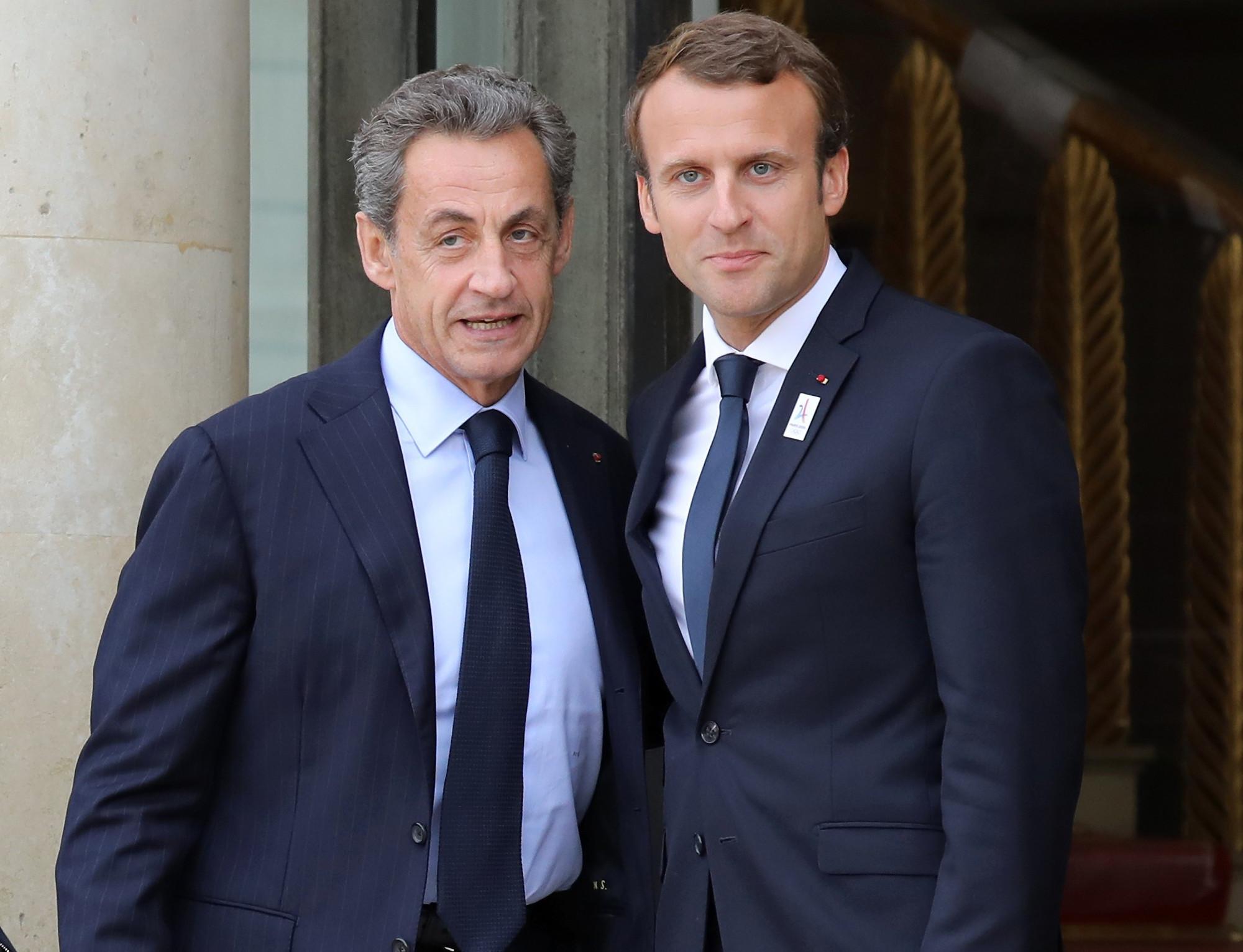 Emmanuel Macron et Nicolas Sarkozy : des retrouvailles discrètes