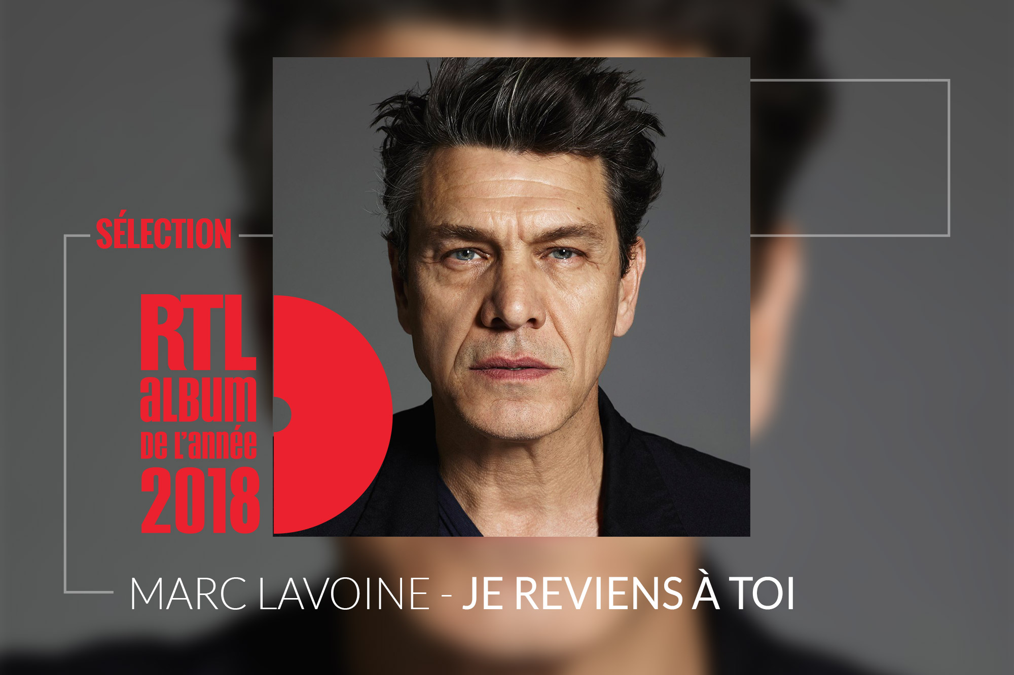 Marc Lavoine En Lice Pour L Album Rtl De L Annee Avec Je Reviens A Toi