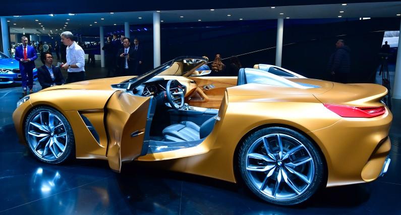 """La BMW  Z4 Concept est consacrée dans la catégorie """"Meilleur concept car"""""""