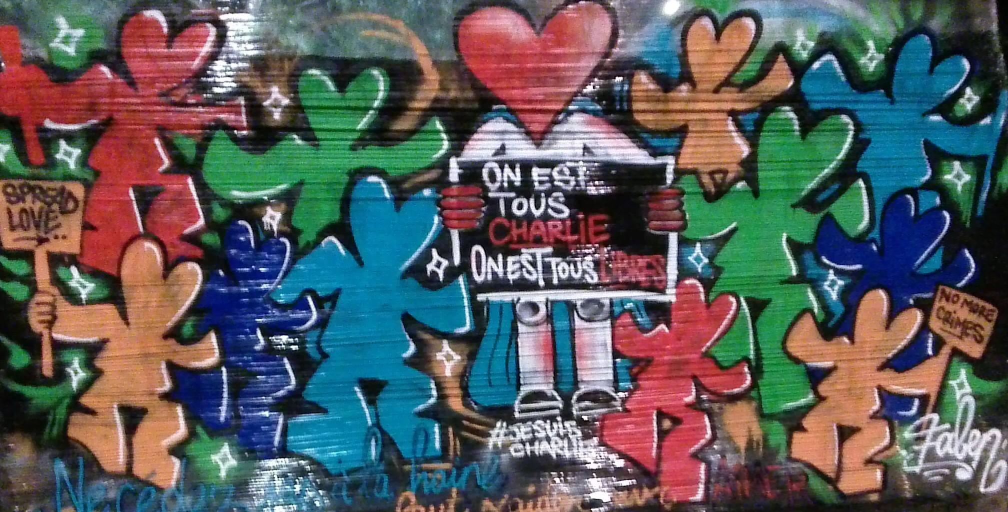 """""""On est tous Charlie, on est tous libres"""", Faben et son Mr Lover"""