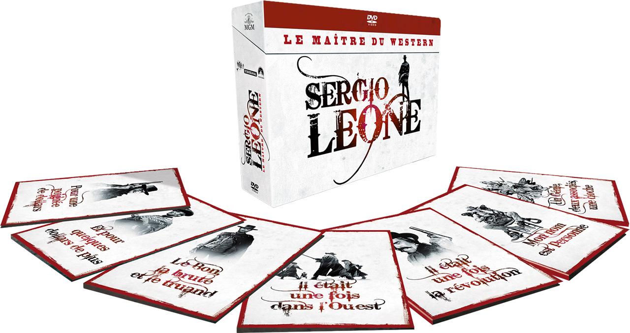 Le coffret Sergio Leone à 52,99 euros sur Fnac.com