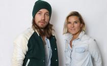 Julien Doré et Stéphanie Renouvin