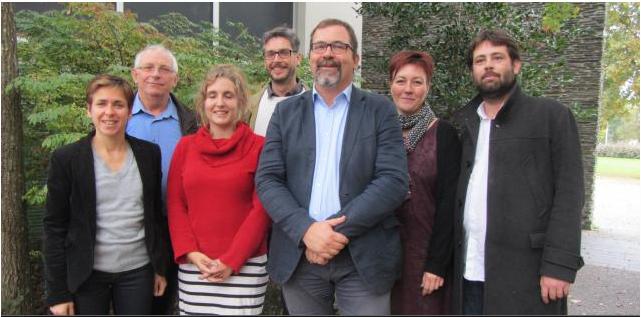 Alain Pagano est tête de liste Front de gauche aux élections régionales 2015 dans les Pays de la Loire.