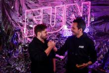 Martin Garrix et JB lors de la 5e édition de Fun Radio Ibiza Experience