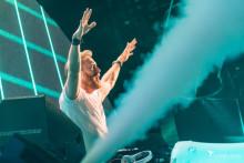 David Guetta en mix à l'Ushuaïa