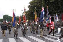 La dernière répétition des militaires pour le défilé du 14 juillet.