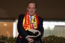 """Le président du RC Lens Gervais Martel a assuré que l'État azéri souhaitait """"aider"""" le club. (archives)"""
