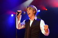 David Bowie en 2002