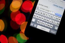 Une baisse des envois de SMS pour le Nouvel An par rapport à 2014