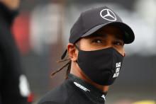 Lewis Hamilton à Nürburg, en Allemagne, le 11 octobre 2020