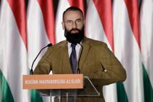 Le député européen Jozsef Szajer,