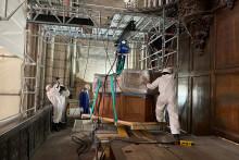 Le grand orgue de Notre-Dame de Paris a été démonté avec deux mois et demi d'avance, le mercredi 9 décembre 2020.