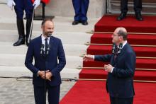 Édouard Philippe et Jean Castex, le 3 juillet 2020