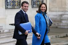 Emmanuel Macron et Ségolène Royal, le 18 mai 2016