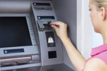 Un distributeur de billets de banque