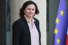 Roxana Maracineanu à l'Élysée le 29 janvier 2020