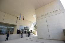 Le palais de justice de Béziers dans l'Hérault (illustration)