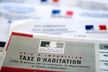 Un avis d'imposition de la taxe d'habitation (image d'illustration)
