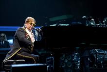 Elton John à New York le 5 mars 2019