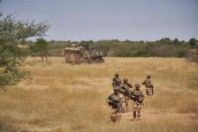 Illustration de soldats français au Burkina Faso le 12 novembre 2019