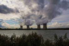 La centrale nucléaire de Cattenom, dans l'est de la France, le 17 octobre 2017.