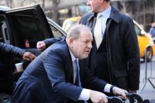 Harvey Weinstein le 24 février 2020 à New York