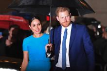 Meghan Markle et Harry, le 5 mars 2020 à Londres
