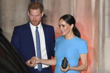Meghan et Harry ont choisi la couleur bleue pour leur apparition