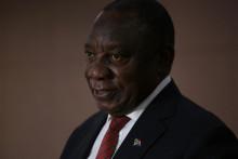Le président sud-africain Cyril Ramaphosa
