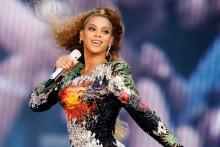 """Beyoncé lors d'un concert de sa tournée """"On The Run Tour II"""", le 3 juillet 2018. (illustration)"""