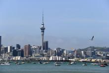 Une vue de la ville d'Auckland en Nouvelle-Zélande (illustration)