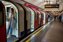 Le métro de Londres, pendant la crise du coronavirus, le 22 avril 2020 (illustration)