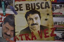 """Joaquin """"El Chapo"""" Guzman était activement recherché au Mexique et aux États-Unis"""