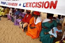 Une manifestation contre l'excision au Mali en août 2008.