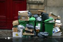 Photo de poubelles (illustration)