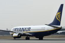 Un avion de la compagnie Ryanair (illustration)