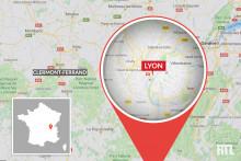 La ville de Lyon (carte)